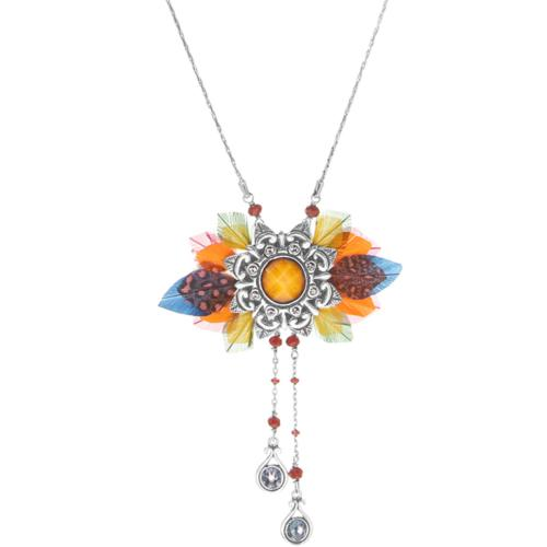 Collier Franck Herval Candyce 2 pampilles