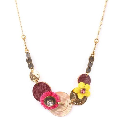 Collier Franck Herval Babette disques
