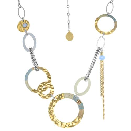 Collier Franck Herval Lucie multi anneaux